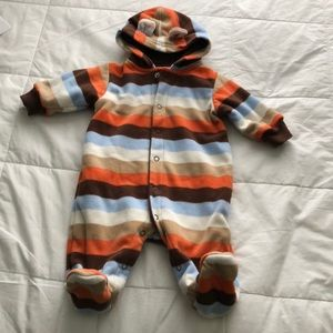 ♥️ 3X20 STRIPES BABY HOODED